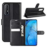 HualuBro OPPO Find X2 Neo Case, Premium PU Leather Magnetic