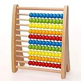 ZYN Matemáticas para niños Ayudas didácticas Abacus Color Abacus Educación temprana Rompecabezas Adición y resta