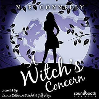 A Witch's Concern audiobook cover art