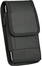 For Samsung Galaxy S8 Plus / Galaxy NOTE 5 / NOTE 4 / NOTE Edge ~ Cell Phone Case Pouch Holster - Vertical / Horizontal Tough Nylon Pouch Duty Metal Clip