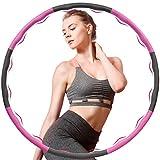 PGFUNNY Hula Hoop Fitness Hula Hoop Adultos Fitness Desmontable,Professional Hula Hoop para la...