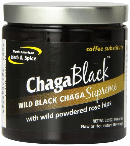 North American Herb and Spice Powder, Chaga Black, 3.2 Ounce