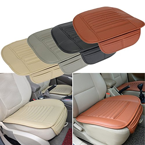 Generic Universal Seatpad PU Leather Car Seat Covers for Auto Car Office Chairs Interior