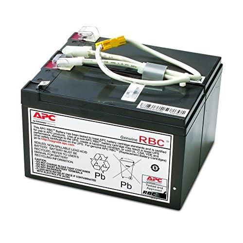APC APCRBC109 Batteria di ricambio UPS, Nero