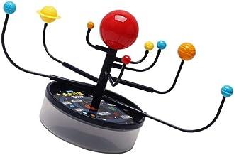 iplusmile 1 Set DIY Zonnestelsel Model Plastic Planetaire DIY Model van acht Planeten Simuleren Planetaire Rotatie en Revo...