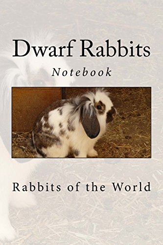 """Dwarf Rabbits: Notebook, 150 Lined Pages, Softcover, 6\"""" x 9\"""""""