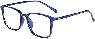 luxury design unisex Blue Light Blocking Glasses blue color Eyeglasses Frame Filter Blue Ray Computer and phone ، TV،Game ...