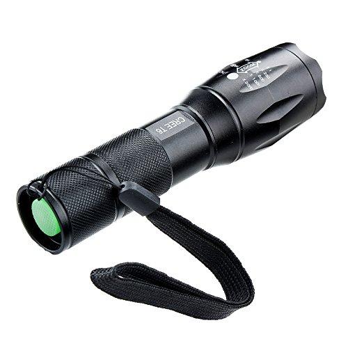 Ebilun LED haute lumens lampe de poche Zoomable Zoom Lampe torche de camping, résistant à l'eau lampe d'éclairage lampe de poche pour la randonnée, le camping, d'urgence