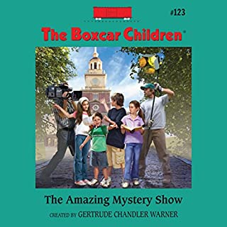 The Amazing Mystery Show audiobook cover art