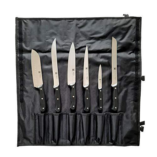 Montana Juego de cuchillos de cocina profesionales de acero inoxidable, 6 unidades...
