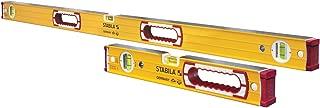 Stabila 37816 Heavy Duty Type 196 Level Set - includes 48