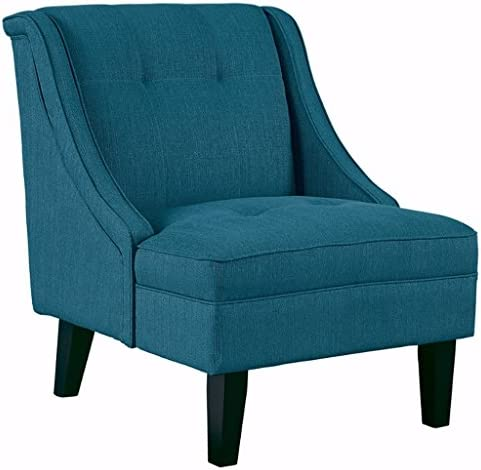 Best Signature Design by Ashley - Clarinda Accent Chair - Wingback - Modern - Blue