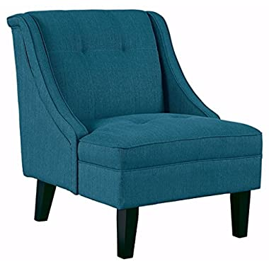 Ashley Furniture Signature Design -Clarinda Accent Chair - Wingback - Modern -  Blue