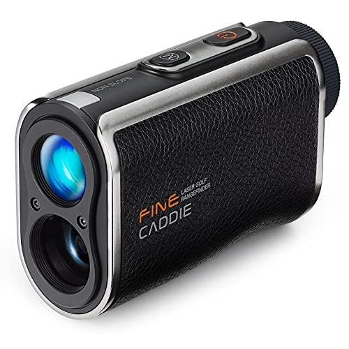 FineCaddie UPL100, 0.3Sec Fast Golf Laser Range Finder 1093Y Slope Mode Vibration Alert USB Charging