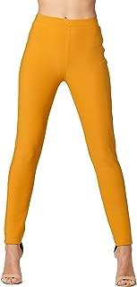 Premium Women's Stretch Ponte Pants - Dressy Leggings - Wear to Work - All Day Comfort