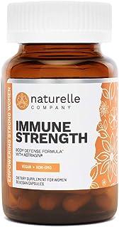 Sponsored Ad - Naturelle Immune Strength | Doctor-Approved Rapid Immune Boost | Vegan Immune Support System Builder | Non-...