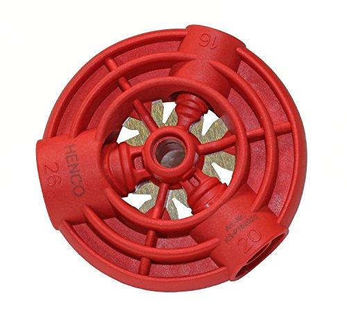Henco, Kali Speed, Strumento per calibrare tubi in alluminio, per diametri 16, 20e 26mm