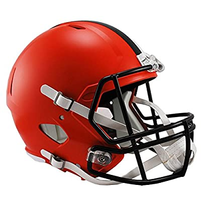 Riddell Cleveland Browns Officially Licensed Speed Full Size Replica Football Helmet
