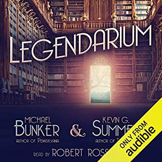 Legendarium audiobook cover art