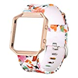 bayite Accessories Replacement Classic Bands with Frame for Fitbit...