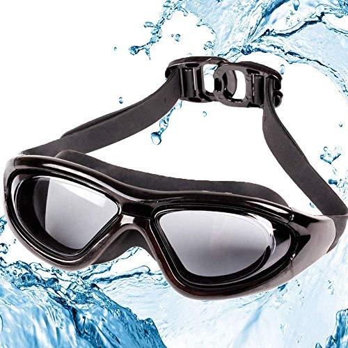 LiShiRong Occhialini da Nuoto, Occhialini Nuoto Adulti, Professionali Occhialini da Piscina Anti-Appannamento, Specchio Protezione UV, Impermeabile, Adatto a Donne e Uomini Adulti,Adatto ai bambini