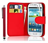 New Leather Wallet Flip Case Cover Pouch for Samsung Galaxy