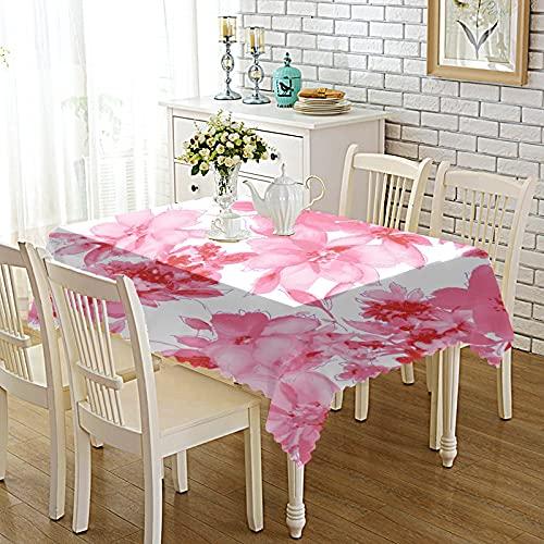 DSman Pflegeleichte Tischwäsche - Tafeltuch, Verdicktes bedrucktes Tischset aus bedruckter Stoffkunst