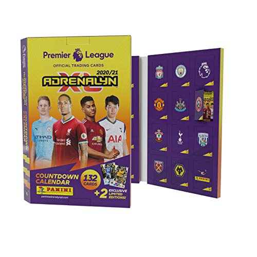 Panini PLA2021AC Premier League 2020/21 Adrenalyn XL Countdown-Kalender