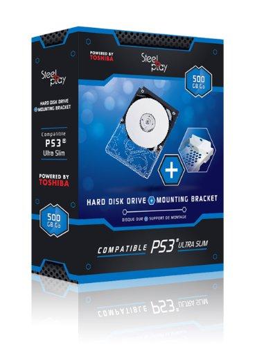 Steel Play - Pack: Disco Duro 500 GB + Adaptador Caddy...