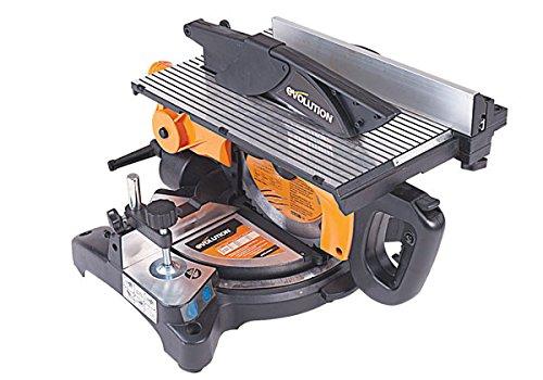 SEGA/TRONCATRICE EVOLUTION PER TAGLI OBLIQUI/SEGA CIRCOLARE DA BANCO RAGES6 - Per acciaio, alluminio, legno e molti altri materiali