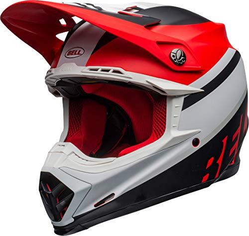 BELL Motocross-Helm Moto-9 MIPS Rot Gr. XL