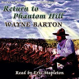 Return to Phantom Hill audiobook cover art