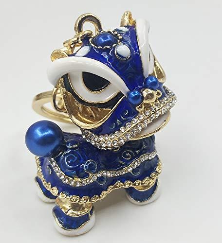 YALESS YYC-082 colgante de joyería con forma de león, colgante, colgante de llave, Lucky, campo magnético de elevación, estilo león chino