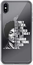 iPhone 7/8 Pure Clear Case Cases Cover Prince Dearly Beloved We are Gathered Here Today to Get Through Life Gift