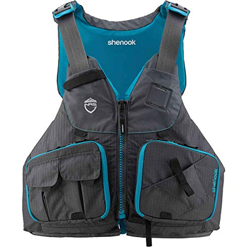 NRS Women's Shenook Fishing Lifejacket (PFD)-Charcoal-XS/M