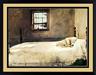 Master Bedroom By Andrew Wyeth Dog Sleeping 20x17 Inches