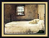 Master Bedroom by Andrew Wyeth Dog Sleeping