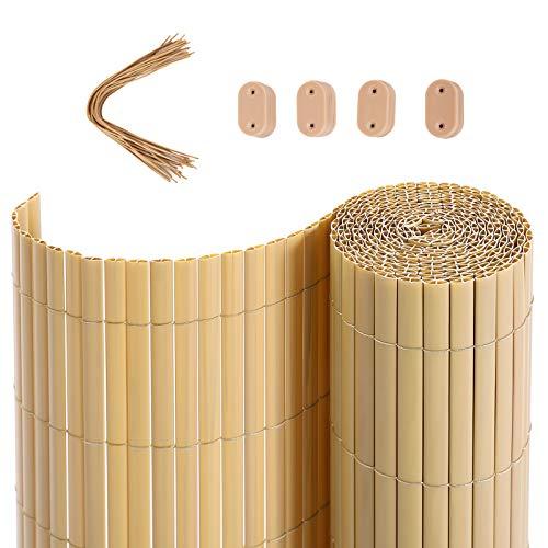 Windhager 665B Natte brise vue bambou 1x3m Beige
