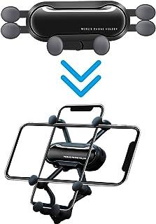 DCUKPST Auto Handyhalterung, Air Vent Universal Schwerkraft Handyhalter fürs Auto kompatibel für alle Smartphones