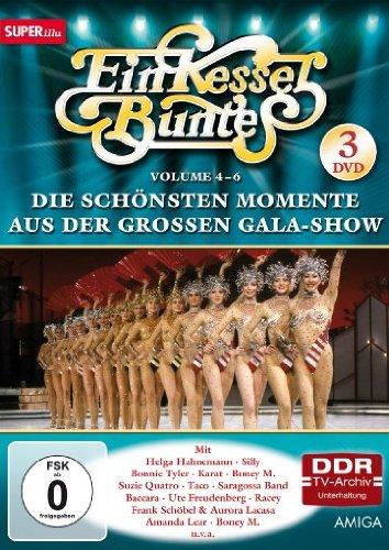 Ein Kessel Buntes - Die schönsten Momente aus der großen Gala-Show, Vol. 4-6 (DDR TV-Archiv) (3 DVDs)