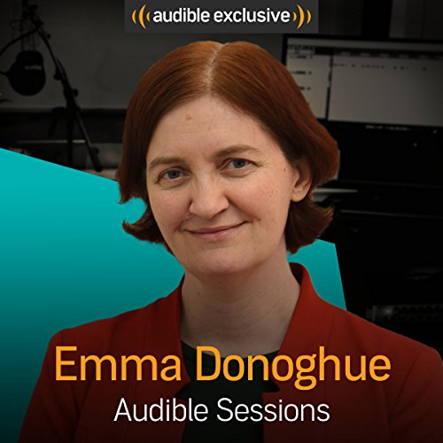Emma Donoghue audiobook cover art