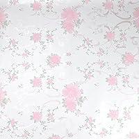 花柄防水シール(トイレの壁紙)
