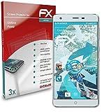 atFolix Schutzfolie kompatibel mit Ulefone Power Folie, ultraklare & Flexible FX Bildschirmschutzfolie (3X)