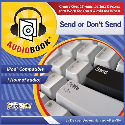 Send or Don't Send audiobook cover art