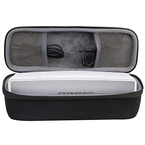 co2CREA Hart case Tasche für Bose SoundLink Mini /Mini II Bluetooth Lautsprecher, Schwarz(Nur hülle)