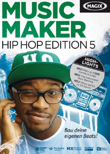 MAGIX Music Maker Hip Hop Edition 5 [Download]