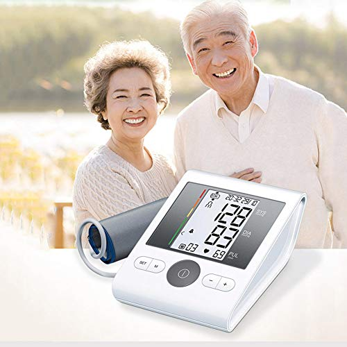 Great Price! LTLGHY Portable Automatic Blood Pressure Tracker, Auto Pulse Rate Systolic Diastolic BP...