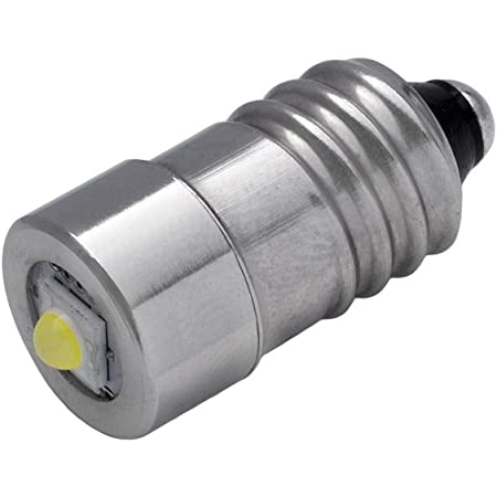 Ersatz-Taschenlampe Gl/ühlampenlampen 5W 6-24V P13.5S Hohe helle LED-Notarbeitslichtlampe