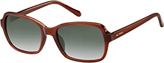 Fossil Sunglasses for Women, Green