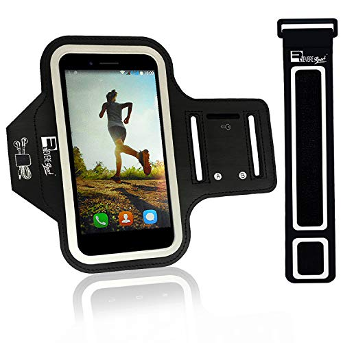 Revere Sport Samsung Galaxy S7 Armband. Premium Phone Arm Holder for Running, Gym Workouts